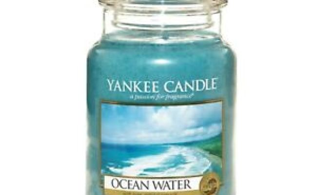 Yankee Candle Ocean Water 22 Oz Great Fresh Spring