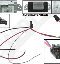 hvac blower motor resistor kit cxl apdty 112822 ebay blower motor wire color code 112822 blower motor resistor wiring diagram [ 1600 x 1251 Pixel ]