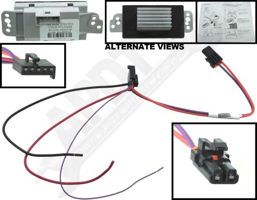 small resolution of hvac blower motor resistor kit cxl apdty 112822 ebay blower motor wire color code 112822 blower motor resistor wiring diagram