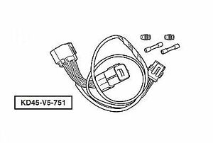 Genuine Mazda CX-5 Day Time Running Light Adapter Harness