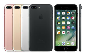 Apple iPhone 7 Plus 32GB (GSM Unlocked) 5.5-inch 12MP 3D Touch iOS Smartphone