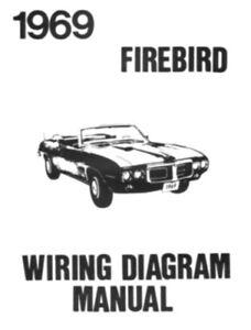 69 firebird wiring diagram volvo 240 radio pontiac 1969 ebay image is loading
