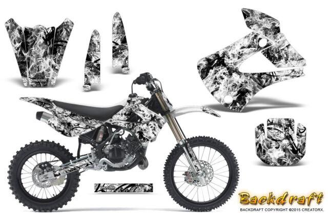 Kawasaki KX85 KX100 2001-2013 Graphics Kit CREATORX Decals
