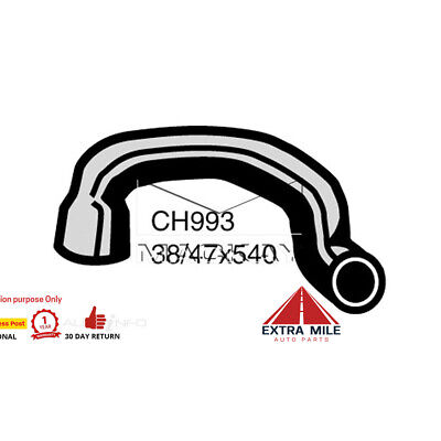 CH993 Radiator Lower Hose For Ford Falcon XC 3.3L I6