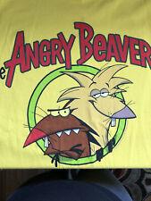Ren And Stimpy Beaver Fever : stimpy, beaver, fever, Nickelodeon, Men's, Angry, Beavers, Norbert, Daggett, T-shirt, Online