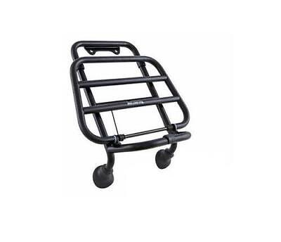 Genuine Vespa GTS Super Black Front Carrier / Front Rack