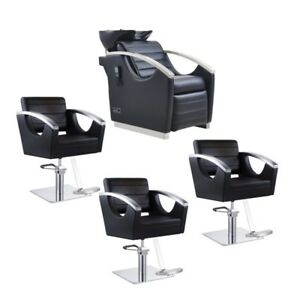beauty salon chairs for sale fishing chair kit package deal equipment image is loading