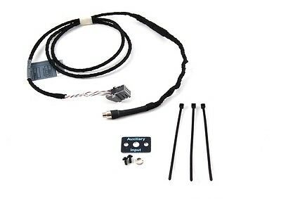 BMW Aux Audio Input Cable E46 3 Series from 09/02 to 05 W