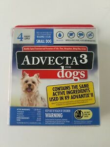 Advecta 3 For Dogs : advecta, Advecta, Small, Month, Supply, Factory, Sealed