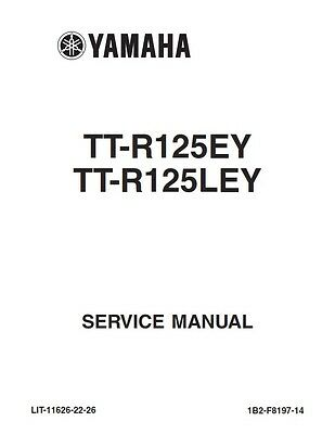 BEST YAMAHA TTR125 TT-R125 2011 FULL SERVICE REPAIR SHOP