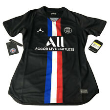 nike air jordan x psg paris saint germaine soccer jersey 4th bv9197 011 sz small