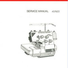 Elna Sewing Machine Parts Diagram 2006 Volvo Xc90 Radio Wiring F3 F4 Sergers Service Manual And Books On Cd Ebay Image Is Loading