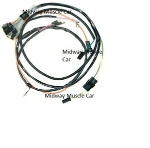 engine wiring harness 67 Chevy Chevelle el camino 327 283