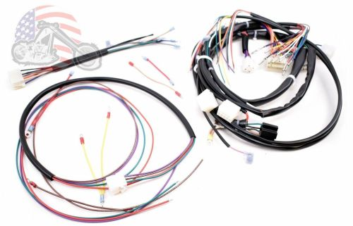 small resolution of main complete engine frame wiring harness harley davidson softail fxst 1987 1988