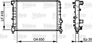 VALEO Engine Cooling Radiator Fits ALFA ROMEO 147 937 2001