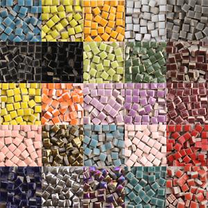 details about tiny ceramic mosaic tiles for crafts square porcelain art pieces hobbies 50pcs