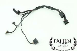 08 Harley Road King Fuel Tank Console Pump Wiring Harness