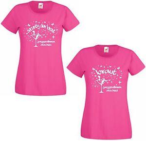 Junggesellinnenabschied Shirt Damen T Shirt pink JGA