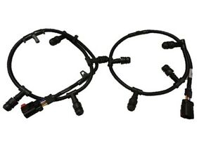 Ford E350 6.0 Diesel Glow Plug Wire Harness Pair Set New