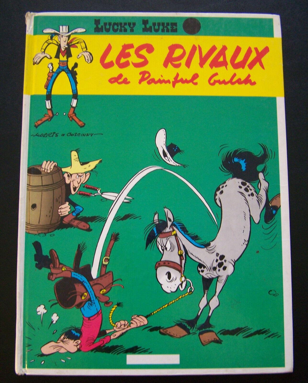 Les Rivaux De Painful Gulch : rivaux, painful, gulch, Lucky, Luke., Rivaux, Painful, Gulch., Morris, Edition, Dupuis.1962.