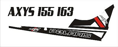POLARIS AXYS TUNNEL TANK SKS decal GRAPHICS 800 600 PRO