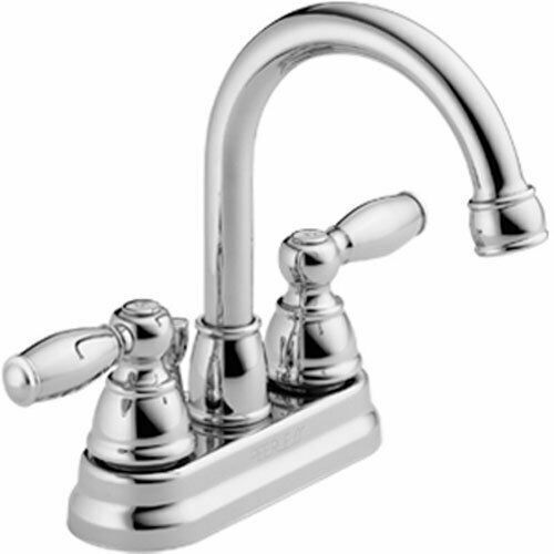 claymore 4 in centerset 2 handle high arc bathroom faucet in chrome by peerless for sale online ebay