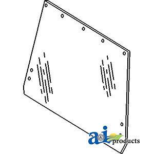 John Deere Parts GLASS REAR CAB WINDOW R50758 8970,8960