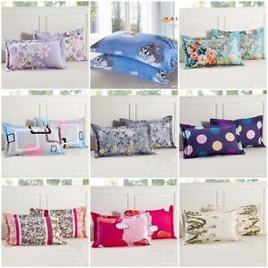 details about 100 cotton home decor pillowcases 48cm 74cm size cushion cover vintage bedding