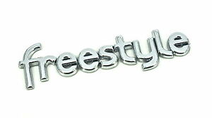 Genuine New FORD FREESTYLE TAILGATE BADGE Emblem For