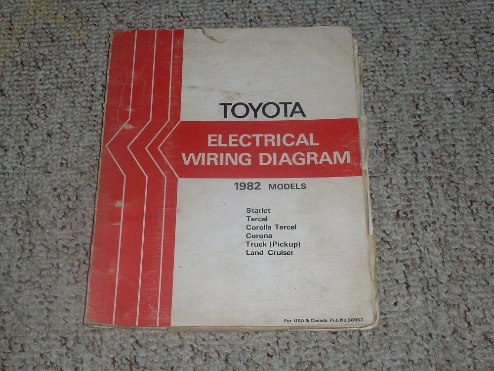 medium resolution of 1982 toyota land cruiser fj40 fj60 bj42 bj60 electrical wiring diagram manual 2f