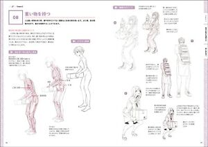 Delightful How to Draw the Character Sketch Japanese Book