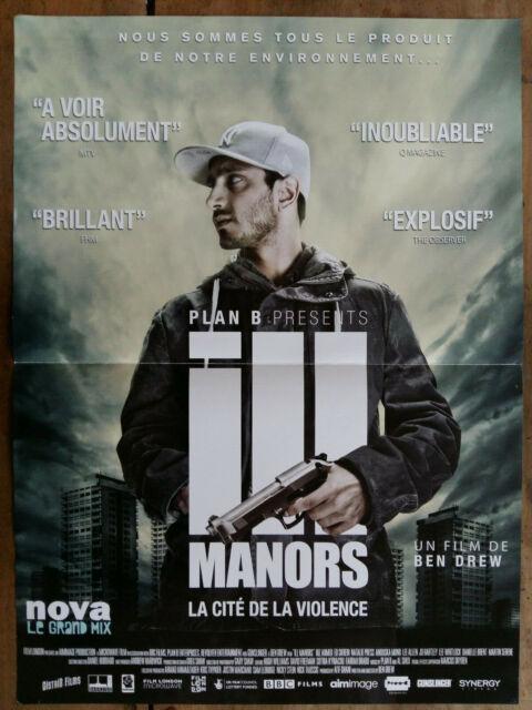 La Cité De La Violence : cité, violence, Poster, Manors, Violence, 11/16x23, 5/8in