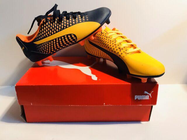 Puma Adreno III FG Jr Soccer Cleats Size 6C Youth Yellow ...