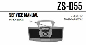 Sony Personal Audio System Zs D55