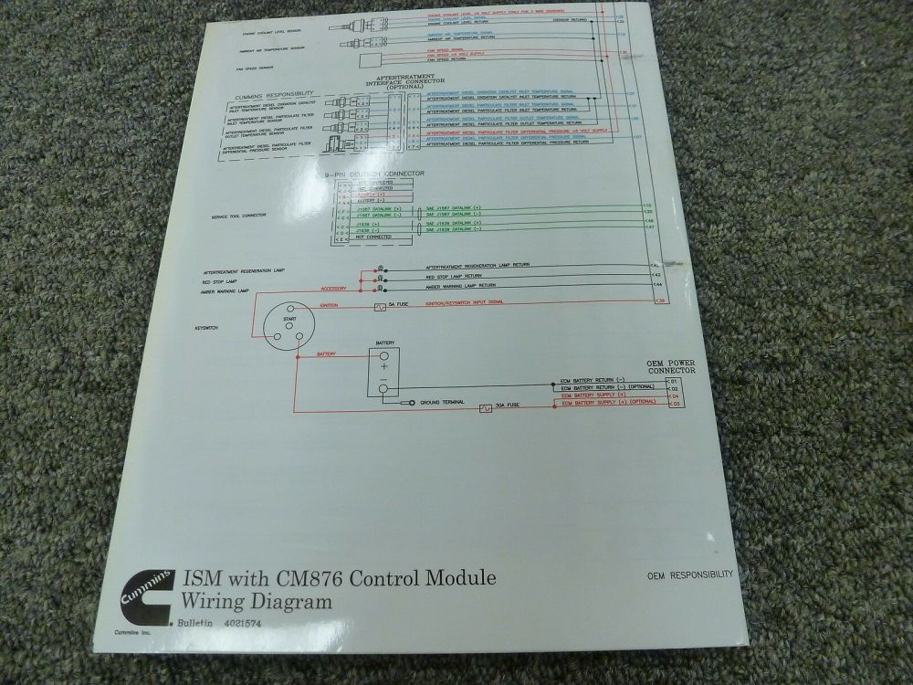 medium resolution of ism fuse diagram wiring diagram data todayism fuse diagram wiring diagram cummins ism engine with cm876