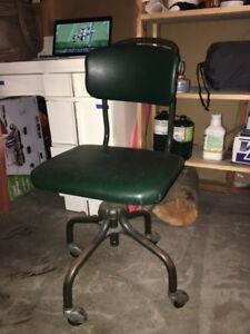 steelcase vintage chair arm covers walmart canada mid century industrial office ebay image is loading