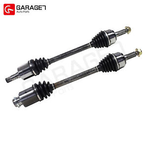 Pair Left & Right CV Joint Axle Shafts Front fit 2009-2013