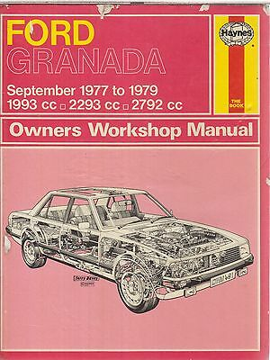 ford granada mk2 wiring diagram serpentine belt routing 2 0 3 8 petrol saloon estate 1977 1979 workshop manual