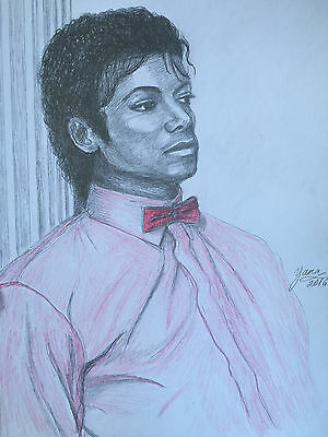 Michael Jackson Thriller Drawing : michael, jackson, thriller, drawing, Michael, Jackson, Drawing, Painting, Thriller, Billie, Scene