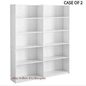 details about bookcase wide