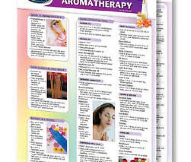 Image Is Loading Aromatherapy Quick Reference Guide Essential Oils Guide