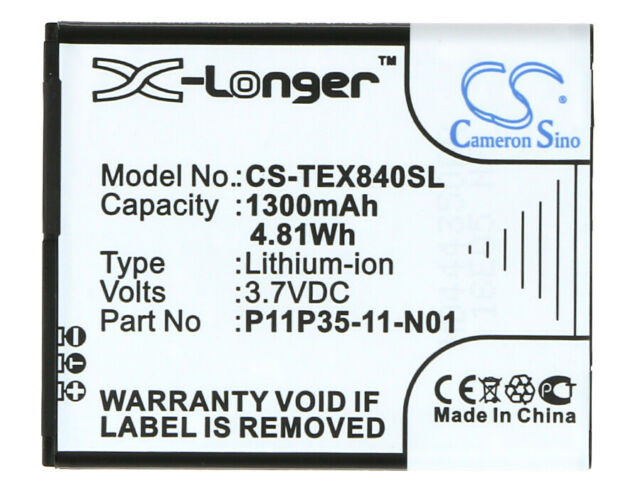 Battery for Texas Instruments TI-84 Plus CE, SELECT TI