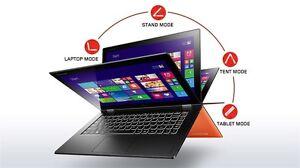 "ORANGE Lenovo Yoga 2 Pro Touchscreen 13.3"" 3200x1800 SSD Win10 Ultrabook GRADE-A"