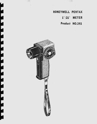 Honeywell Pentax, Asahi Pentax 1º/21º Spot Meter Parts