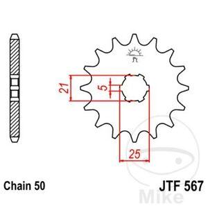 JT Front Sprocket 17T 530 Pitch JTF567.17 Yamaha RD 400