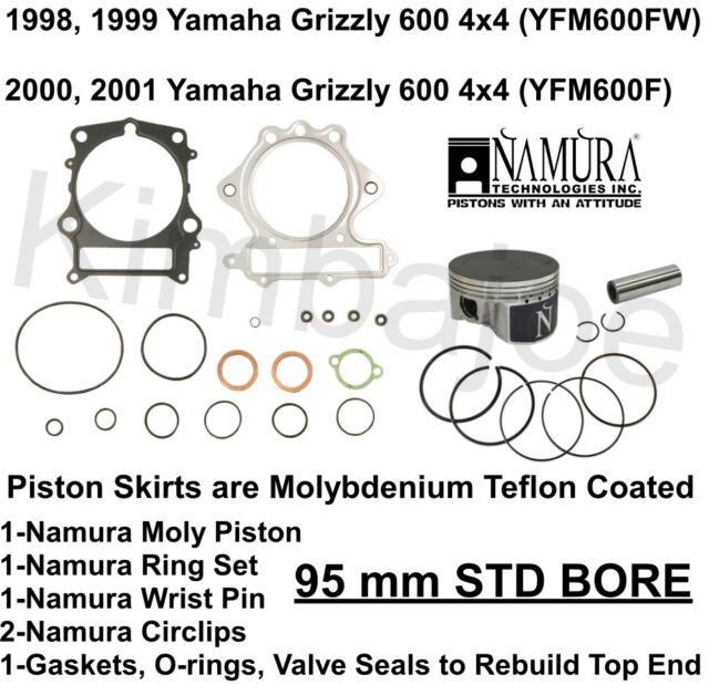 1998 1999 2000 2001 Yamaha Grizzly 600 4x4 ATV 95 mm STD