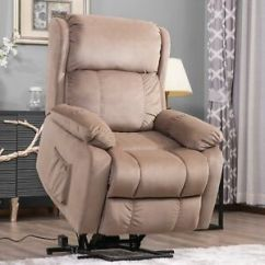 Seat Lifts For Chairs Red Club Chair And Ottoman Electric Power Lift Recliner Armchair Wall Elderly Image Is Loading