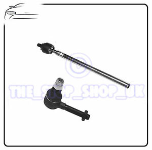 LEFT Inner & Outer Tie Track Rod End Steering To Fit