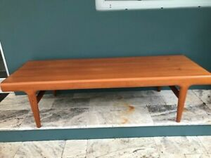 details about mid century coffee table teak