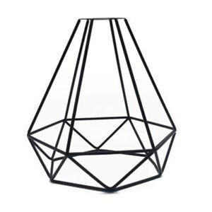 Vintage Wire Diamond Loft Pendant Ceiling Light Lamp Shade